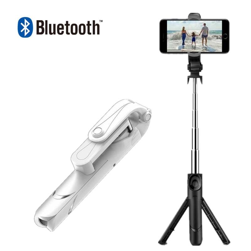 FG3 Mini Bluetooth Selfie Bâton Trépied Pliable Miroir À Distance Selfie Bâton Pour IOS iPhone X 8 7 Plus Xiaomi Samsung android