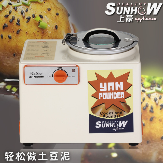 baby food Reddy Yam Pounder full automatic Commercial potato mushed machine potato muds