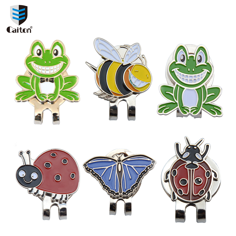 Caiton Cute insects Golf Ball Marker and Magnetic Hat Clip-in Golf Training Aids from Sports & Entertainment