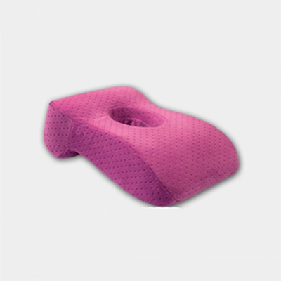 Portable Size Inflatable Office Home Pillow Velvet Free Air Exchange Lie Down Pillow Comfortable Hand Pillow