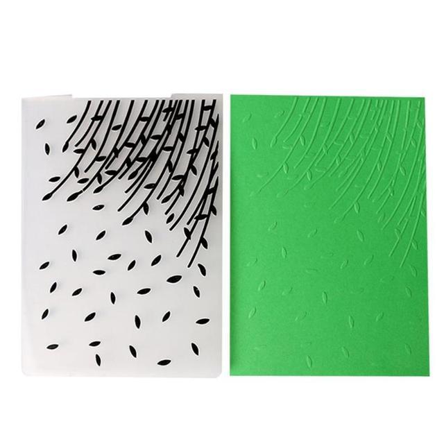6 Style Plastic Scrapbooking Embossing Folder Template Mold Handmade
