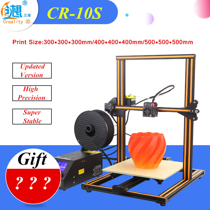 Filament Monitoring Alarm Creality CR-10 3D Printer Large Prusa I3 Kit Large DIY Desktop 3 D Printer DIY Education CR-10S Series