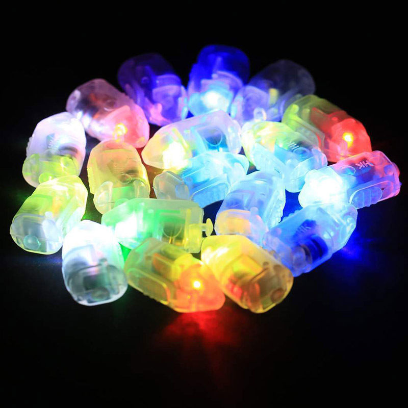 50pcs/lot LED Flash Lamps Balloon Lights for Paper Lantern Balloon Light LED Bulbs Wedding Night Party Decoration Mayitr ...