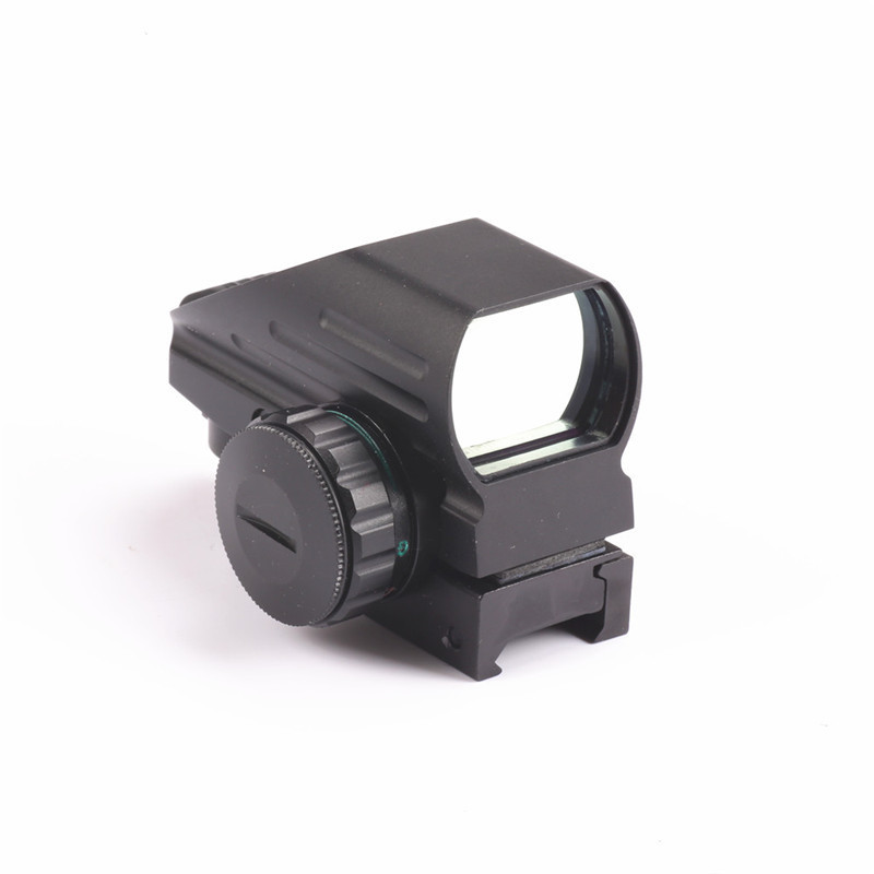цена на Tactical AK Holographic 1x22x33 Reflex Red Dot Sight Green Red Dot Sight Reflex Scope 20mm Hunting Caza