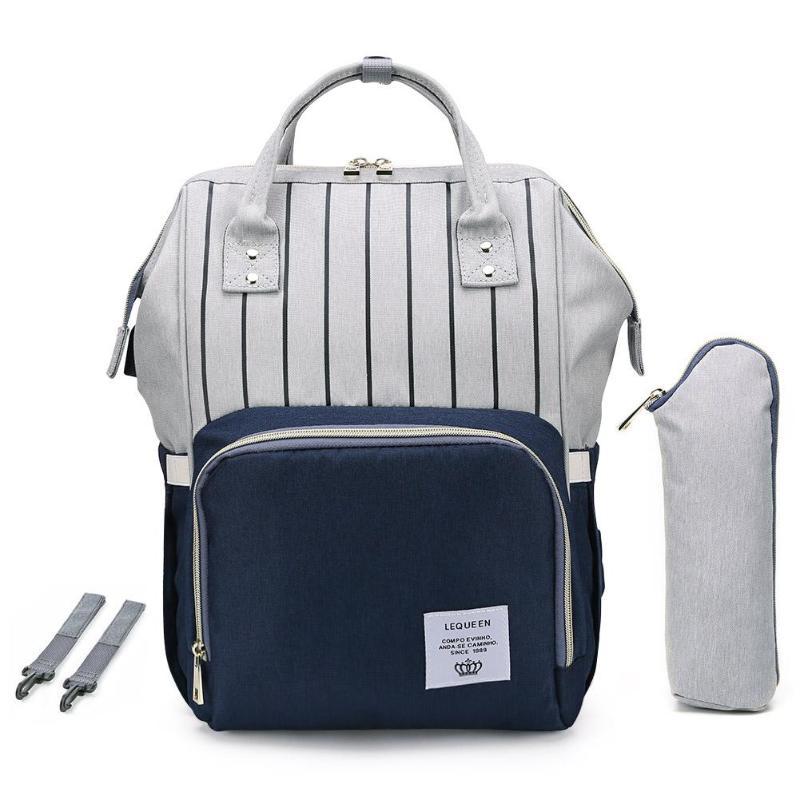 HTB1378iaznuK1RkSmFPq6AuzFXaU LEQUEEN Fashion USB Mummy Maternity Diaper Bag Large Nursing Travel Backpack Designer Stroller Baby Bag Baby Care Nappy Backpack