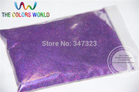 TCA800 0.05mm 002 especular Color Púrpura Holográfica Glitter powder Multichrome brillo para uñas tatto, arte de la decoración 1 paquete = 50g