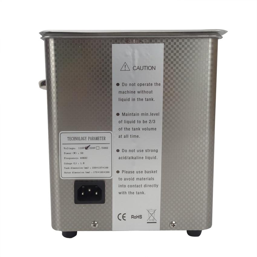 1pc digitale DSA50-GL1 110 / 220V ultrasone reiniger roestvrij staal - Huishoudapparaten - Foto 4
