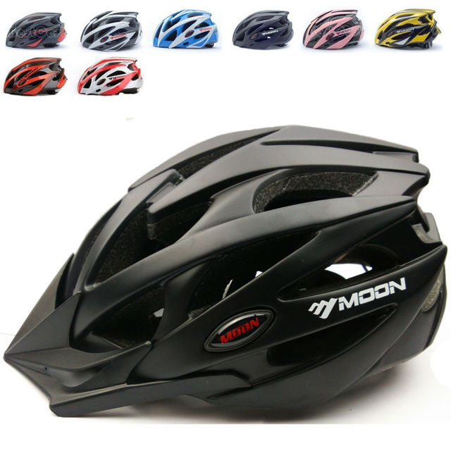 MOON brand bicycle helmet Ultralight and Integrally-molded Professional bike/cycling helmet Dual use Road or MTB