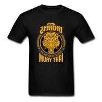 Muay Thai Tiger Thailand Tiger Muay Thai T Shirts Men S 2017 Homme Tops T Shirt