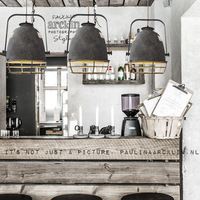 Loft Industrial Chain Pendant Lights Vintage Edison Handlamp Dinning room Lamps Glass Shades led luminaria AC110 240V Indoor