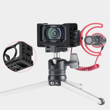 Metal Camera Vlog Cage for Sony RXO LL with 1/4 Screw Holes