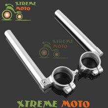 CNC Aluminum Fork Tube Adjustable Handlebars Clipons Clip-on For Suzuki GSXR GSX-R 1000 GSXR1000 2005 2006 2007 2008