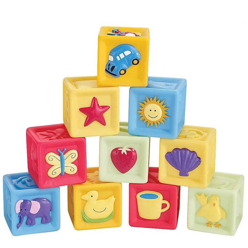 1set Kids House Building Blocks Educational Learning Construction Developmental Brain Game Xmas Birthday Babytoys 10 Pcs