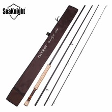 SeaKnight MAXWAY Fly Rod Honor 7/8# 3.0M 9FT Fast Fishing Rod FUJI Rings AA Cork Anti-corrosion Reel Seat Fly Fishing Equipment