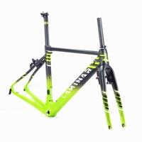 LAMINAR AERO FLOW Carbon fibre highway frame passed UCI certification 700c Custom edition of Jeku bicycle team Aerodynamics Road