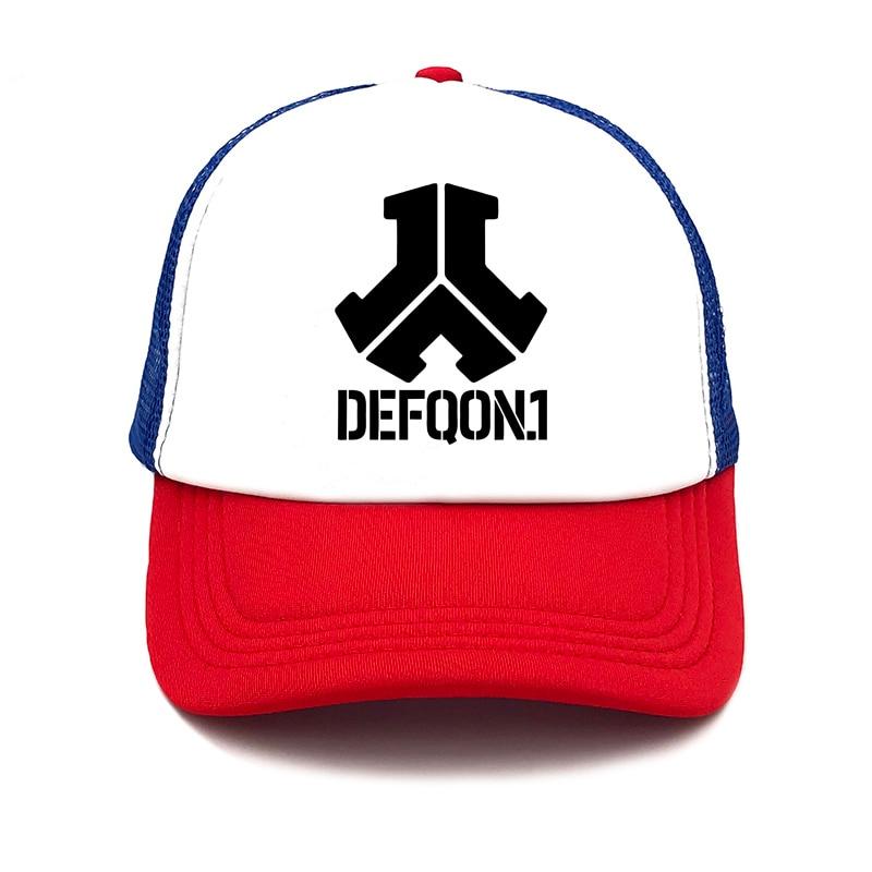 2019 New Fashion Defqon.1 Rock Band summer women   baseball     Cap   men Casual Hip Hop Mens Snapback Mesh Hat truck driver