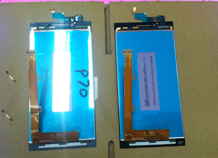P70-T LCD Display+Touch Screen Panel Digitizer Accessories Replacement parts For Lenovo P70t P70 Smartphone Free shipping