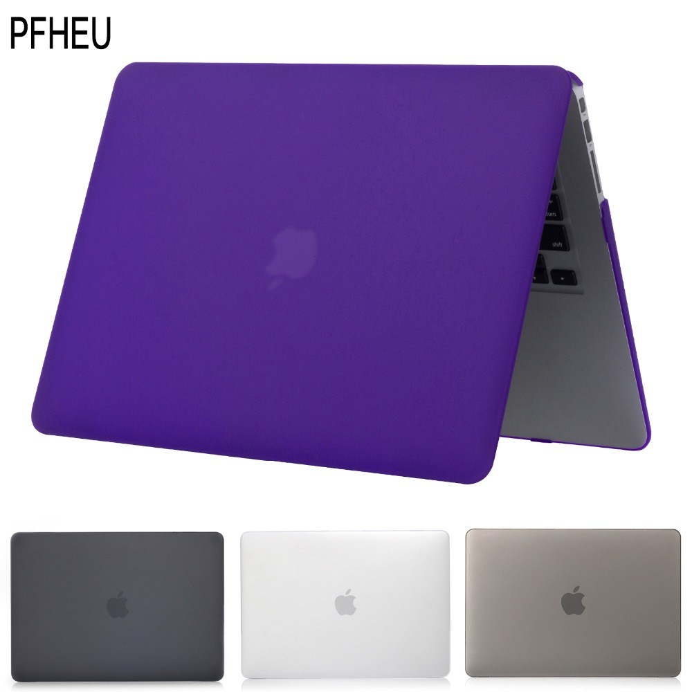 Hot Hard Laptop Case For MacBook Pro Retina Air 11 12 13 15,for mac Air 13,New Pro 13 15 inch A1706 A1708 A1707 with Touch Bar' matte glitter bling case for apple macbook air pro retina 11 12 13 15 with touch bar 2017 a1706 a1707 a1708 for macbook 11 case