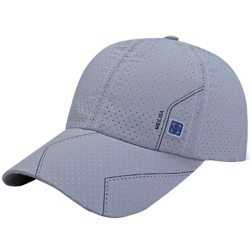9a7152bee ... Newly Men Tennis Caps Baseball Sunscreen Hats Snapback Hat Hip-Hop  Adjustable Caps ...