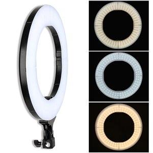 Image 4 - Zomei 調光可能な写真撮影写真スタジオリングライト 3200 5600 18K LED 照明電話アダプタのためのライブ放送ビデオ
