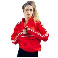TFGS Women Autumn Spring Ribbon Side Sleeve Blouse Women Casual Loose Red Blouses Fashion Women Blouses