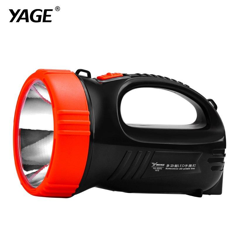 YAGE portable light led spotlights camping lantern searchlight portable spotlight handheld touch lantern desk lamp light