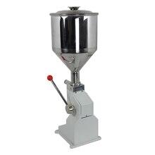 Портативная ручная машина для наполнения томатной пасты, ручная машина для наполнения тюбиков крема для рук, меда, клея