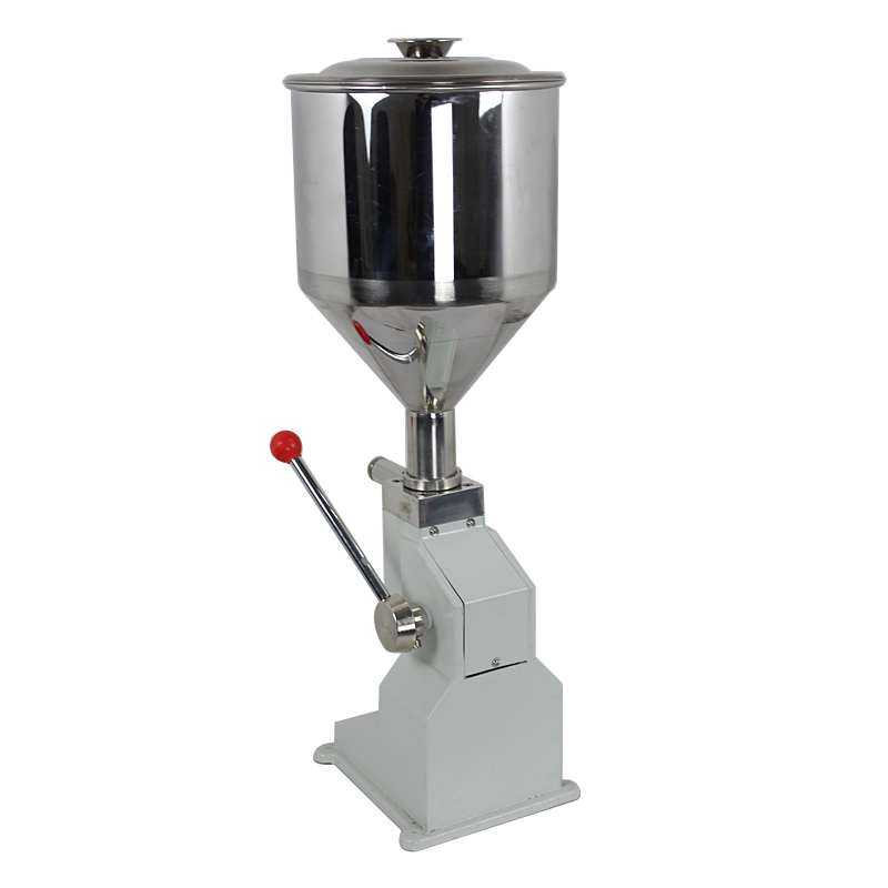 Manual Toothpaste Filling Machine For High Viscosity Liquid , Cream Filler (5-50ml)