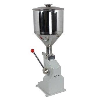 smallest paste filling machine with foot pedal, cream filling machine for liquid glue sticker cream