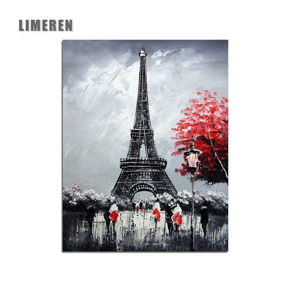 51 50 De Descuentocuadro Modular De La Torre Eiffel De París Pintura Por Números En Lienzo Diy Para Colorear Dibujo Por Números Para La Imagen