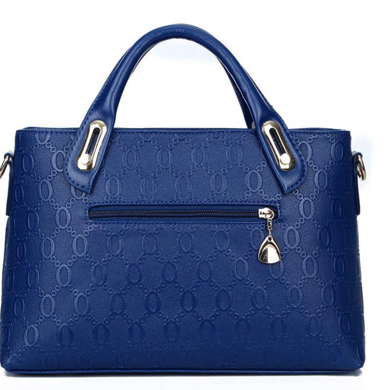 Yeetn.H Women 4 Set Handbags Pu Leather 3
