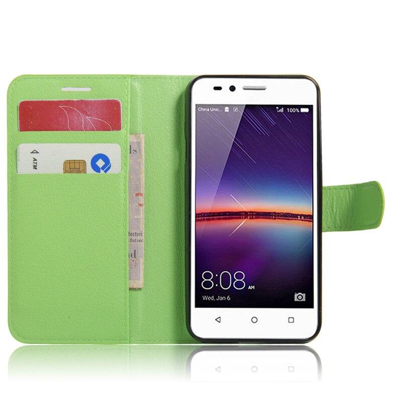 для хуавей У3 второй чехол бумажник кожаный чехол для хуавей У3 второй y3ii откидную крышку телефона чехлы с подставкой держателя карты