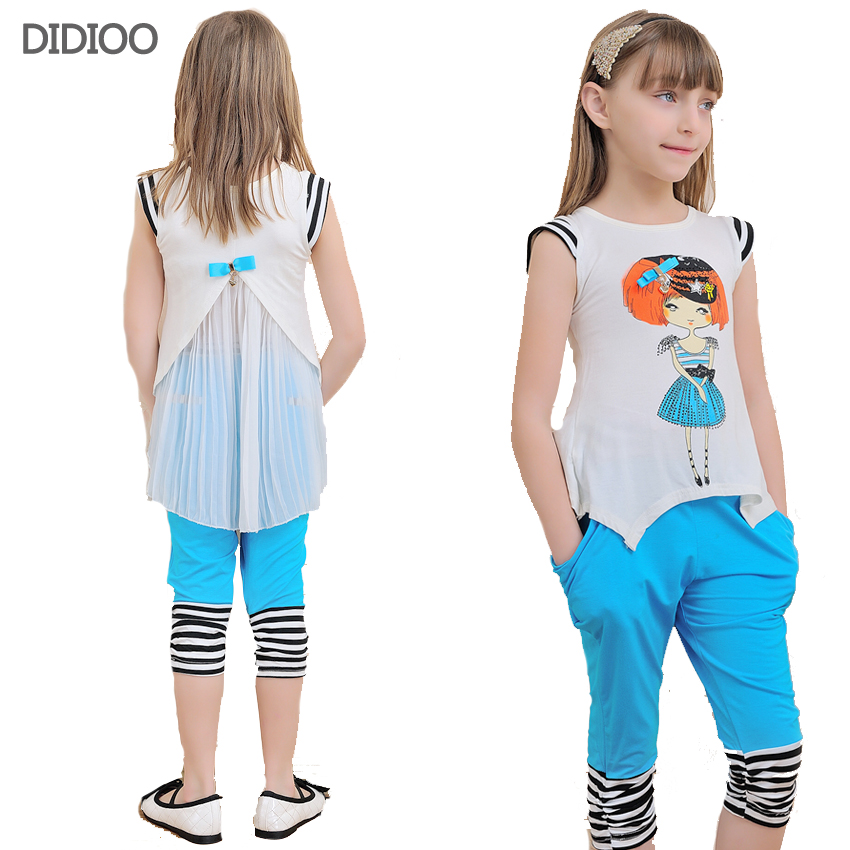 clothes cotton casual children clothing sleeve