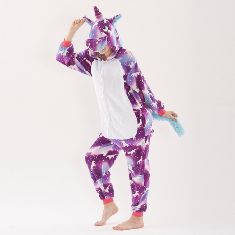 pijamas dos desenhos animados pijamas ponto unicórnio kigurumi unicornio
