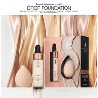Основа для макияжа Dripper + консилер каплеобразный спонж