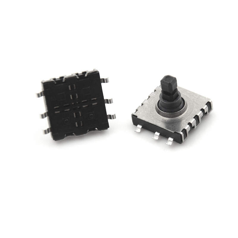 9 Mm Multi-function Multi Direction Touch Reset Button Switch 10 5pcs/lot 10*10*9 Smd 5 Five Way Switch 10