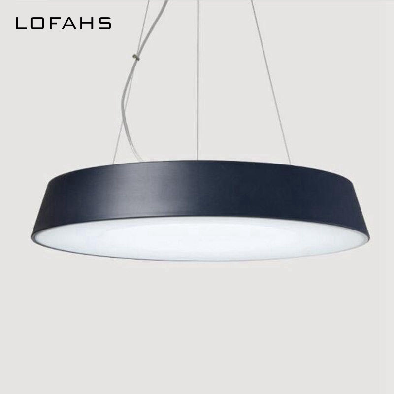LOFAHS Modern LED ceiling pendant lamp Suspended Pendant loft light fixtures suspension luminaire home lighting led ceiling pendant lamp black white red color indoor home decoration modern led light lighting luminaire