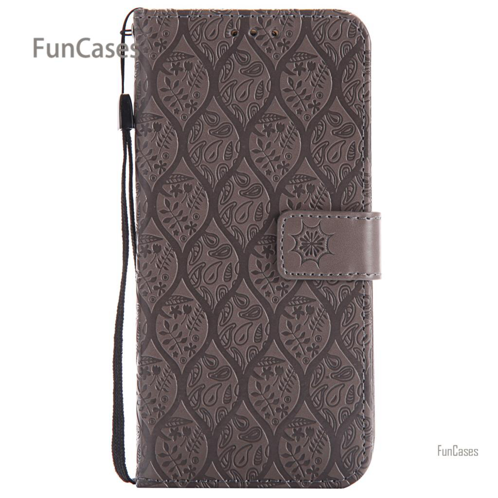 Vine Style Flip Case sFor Hoesje Samsung S7 Edge PU Leather Phone Case Caso Metallic Sil ...