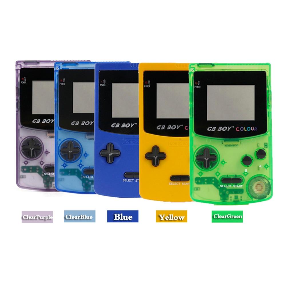 Qualifiziert Gb Junge Farbe Farbe Handheld-spiel-spieler 2,7 tragbare Klassische Spiel Konsole Konsolen Mit Backlit 66 Eingebaute Spiele 100% Garantie Portable Spielkonsolen