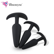 Soft Silicone Anal Plug Bullet Shape Butt Plug Sex Toys For Men Women Adult Products Anus Toys for Couples Prostate Massager