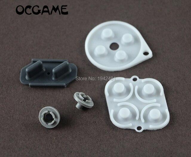 OCGAME wysokiej jakości dla oddelegowanych ekspertów krajowych Super NES Nintendo przewodzące wymiana kontrolera podkładki gumowe 2 zestawów/partia