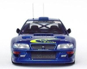 TAMIYA 124 Skala Kunststoff Auto Montage Modell SUBARU IMPREZA WRC99 Rally Rennen Auto Modell Gebäude Kit 24218