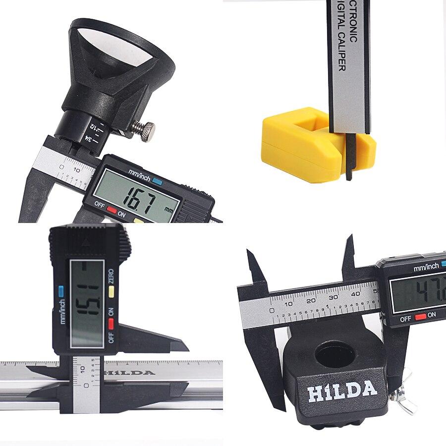 Electronic Measuring Tools : Mm inch lcd digital electronic vernier caliper gauge