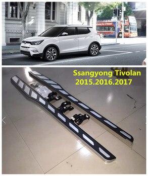 Cho Ssangyong Tivolan 2015.2016.2017 Xe Chạy Bảng Auto Side Thanh Bước Bàn Đạp Chất Lượng Cao Brand New Thanh Nerf