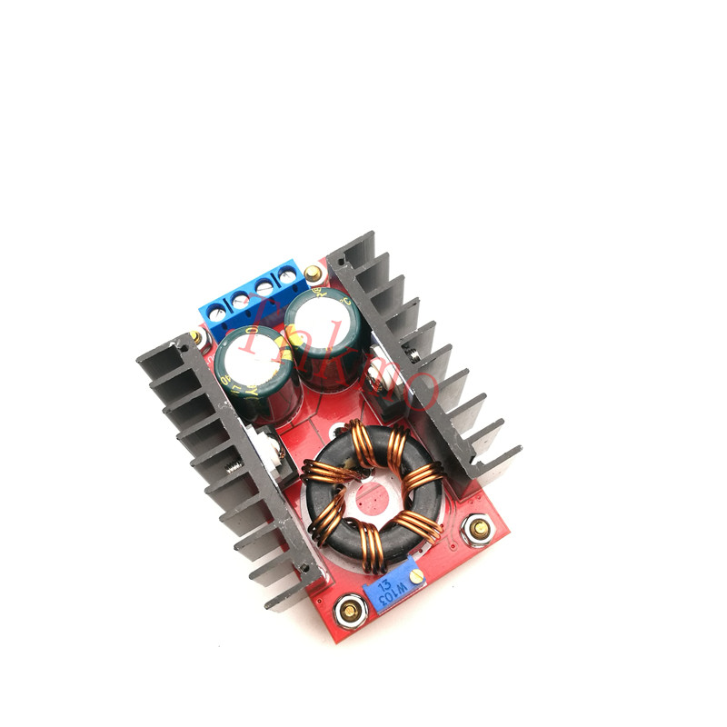 150W DC-DC Boost Converter Step Up Power Supply Module 10-32V To 12-35V 10A Laptop Voltage Charge Board For Arduino # Free shipp dc 3 6v 6v to 400kv boost step up power module high voltage generator