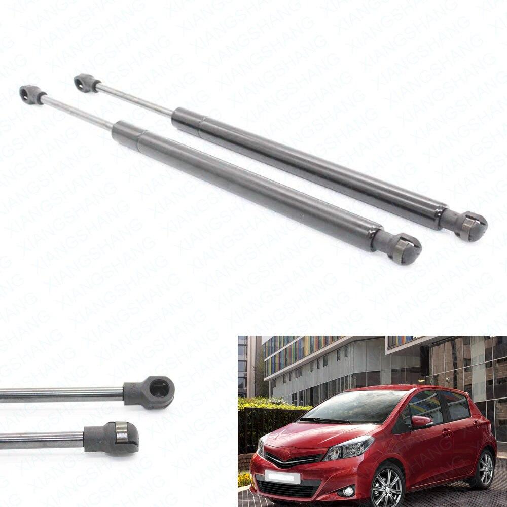 2 pcs Hatch Boot arrière Auto Gas Spring Struts Prop Ascenseur Soutien Pour Toyota Yaris W/O D'essuie-Glace Hayon 2007-2011 17.01 pouces