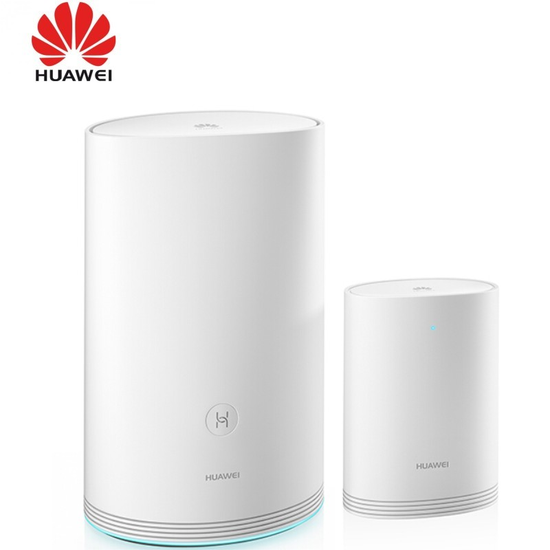 US $135 0 10% OFF|Huawei Q2 2 4GHz 300Mbps + 5GHz 867Mbps Dual Band High  Speed Wireless Router Set(White)-in 3G/4G Routers from Computer & Office on