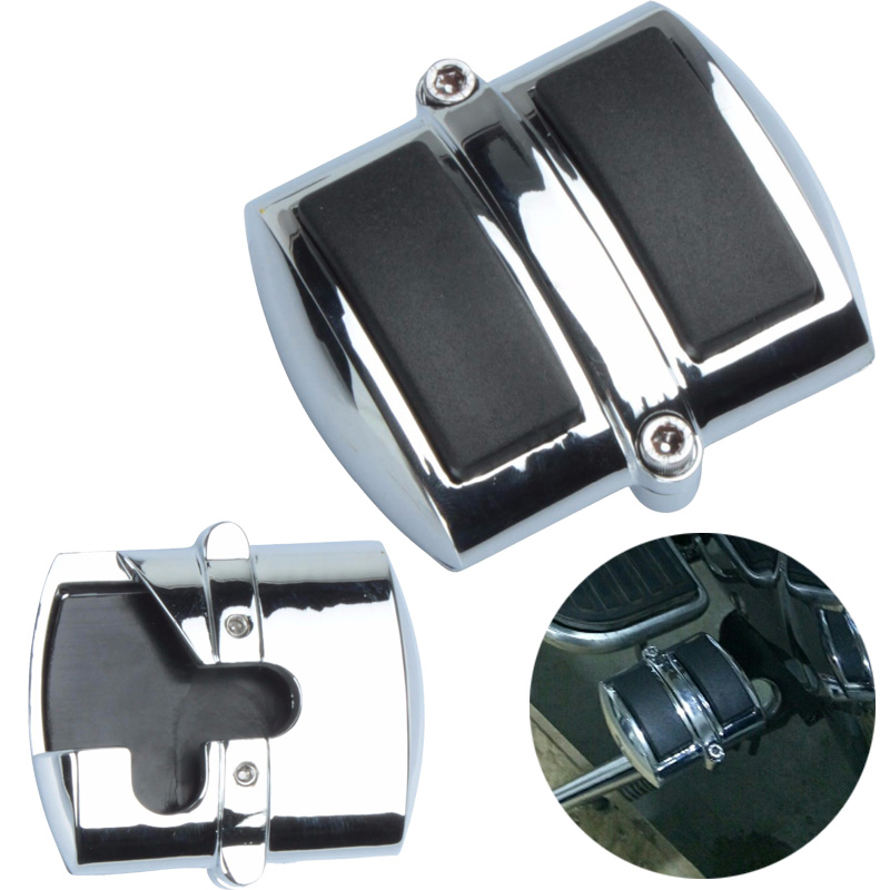 Brake Pedal Pad Heel Shift Cover For Kawasaki Yamaha Suzuki Honda Motorcycles