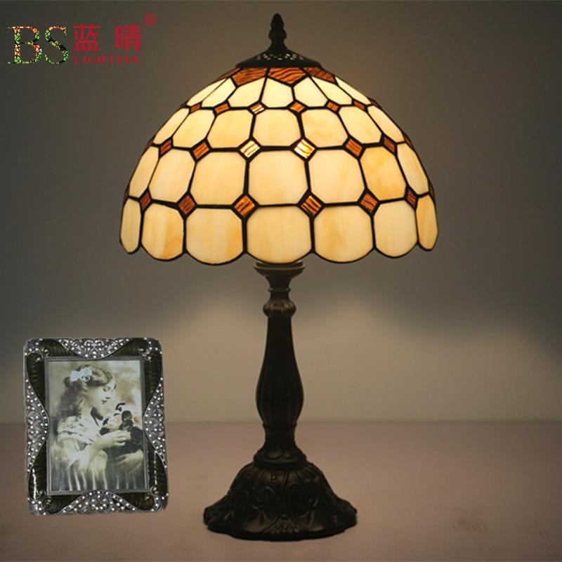 Модный дизайн, Турецкая мозаика, лампа E27, цоколь, ручная работа, стеклянная лампа, прикроватная тумбочка для спальни, Винтажная настольная л