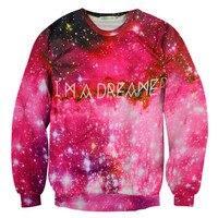 Harajuku galaxy przestrzeń bluza kobiety top wysokiej jakości dorywczo drukuj lady sw52 sudaderas swetry damskie bluzy z kapturem odzieży wierzchniej